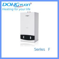 China Plate heat exchanger wall hung gas boiler for Russian market from Dongyuan wholesale