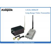 900Mhz / 1200Mhz Wireless Analog Video Transmitter and Receiver with 2000mW RF for Long Range Manufactures