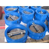 API 609 / ISO 5752 / BS5155 Standard, GGG40 / GGG50 Body Cast Iron Wafer Check Valve Manufactures