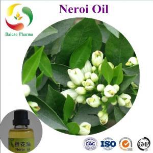 CAS NO. 8016-38-4 Neroli Essential Oil Cosmetic Massage 100% natura manufacturer best price Manufactures