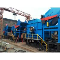 Vertical Industrial Scrap Metal / Rubber Crushing Machine Low Energy Manufactures
