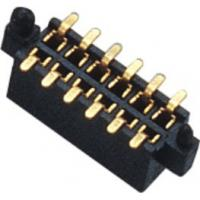 1.27mm Dual Row 180° SMT Pin Header Connector Female With Different Post And Metal Manufactures