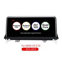 China 10.25 inch Android 7.1 Multimedia Car Audio Car Navigation Player 2 din android for BMW X5 E70 X6 E71 With CIC System 32 on sale