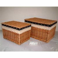 China Willow basket on sale