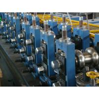 90 m / Min Tube Forming Machine Different Size Design Rectangular Pipe Manufactures