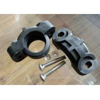 DN80 Grooved Piping Systems 300 Psi Nylon Flexible Coupling In Corrosive Or Abrasive Manufactures