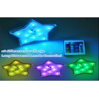 Color Changing Battery Operated El Products Star Led Lights Remote Control Manufactures