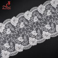 Pollution - Free Underclothes Embroidered Lace Trim For Sensitive Skin Manufactures