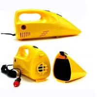 Yellow Portable Car Vacuum Cleaner 12 Voltage 35w-60w For Choice, Made in China Manufactures