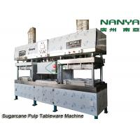 Semi - Automatic Stainless Steel Pulp Molding Equipment For Plates / Bowls / Cups Manufactures
