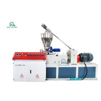 China HSJZ-65/132 50-150mm PVC Pipe Making Machine | PVC Plumbing Pipe Making Machine on sale