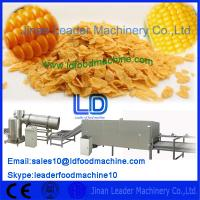China Full Automatic Corn flakes cereals machine,300-400kg/h on sale