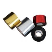 Gold Silver Aluminum Hot Stamping Foil For Plastic Bottle Cap Tube Manufactures