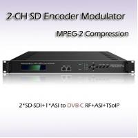 REM7204 Two-Channel SD-SDI TO DVB-C MPEG-2 SD Encoding Modulator Manufactures