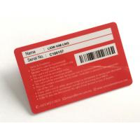 Hotel Plastic  Identity Card  ,  NFC Professional Programmable ID Printable Contactless Smart PVC RFID Card Manufactures