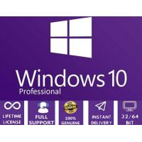 China Windows 10 Pro 64 Bit Activation Key English Languages Life Time Support on sale