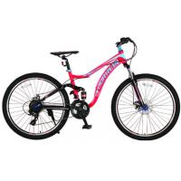 Tianjin manufacturer 24 inch aluminium alloy dual suspension mountain bike/bIcycle/bicicle with Shimano 21 speed Manufactures