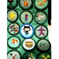 China Metal Hand Embroidery Badges on sale