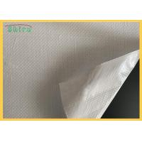 China mirror glass safety backing protective film Woven Fabric Film on sale