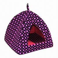 Pink Dot Pet Bed, Filled with Foam, Inner Cushion Removable, Soft and Comfortable  Manufactures