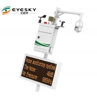 50HZ Wireless Environmental Monitoring System ES80A Monitor Concentration Of PM10 PM2.5 TSP Manufactures