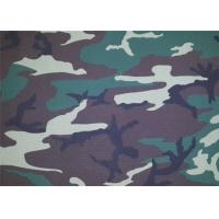 China Camouflage Polyester Print Fabric / Modern Print Fabric Soft on sale