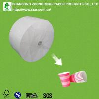 270+18g cups paper with single side PE Manufactures