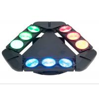 DMX512 100w Spider Beam Moving Head Lighting 9 Heads Lights AC 110-240V 50-60HZ Manufactures