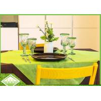 PP TNT Colored Non Woven Disposable Table Covers TNT Spun - Bonded Anti Static