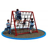 Rectangular Shape Small Rope Climbing Structure For Shopping Mall KP-PW030 Manufactures