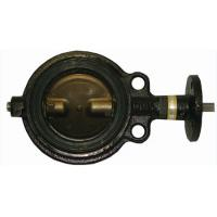 wafer type soft seat manual actuator butterfly valve. Manufactures