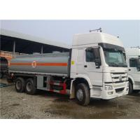 China Heavy Duty HOWO 6x4 Tanker Truck Trailer 20000L 20cbm For Transporting Oil on sale
