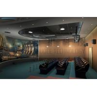 5D theater system , arc silver screen , perfect fusion effect Manufactures