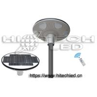 HT-SG-UFO30,30W Smart UFO all in one integrated solar street light, 360 degree lighting solar garden light Manufactures