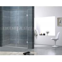 Customized Frameless Shower Screens 8MM Easy Clean Tempered Glass CE Certification Manufactures