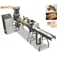 Stainless Steel Homemade Granola Bar Making Machine With One Year Warranty Manufactures