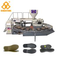 Kids Sports Shoe Sole Injection Molding Machine , TPR Sole Moulding Machine  Manufactures