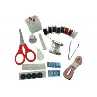 Eco Friendly Material Home Sewing Kit , Small Sewing Kit Set With Tweezer Scissor  Manufactures