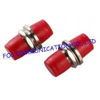FC Big D And Small D Type Fiber Optic Connector Adapters With Low Insertion Loss Manufactures