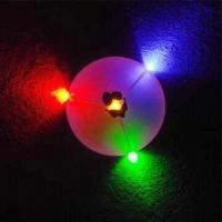 10-inch LED Flying Disc, Customized Logos are Accepted Manufactures