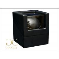 Matte Wood Black Automatic Watch Winders For Men Watches Case Manufactures