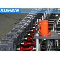15KW 50Hz 3 Phases Steel Frame Roll Forming Machine with 20 - 25 Steps for Door Manufactures