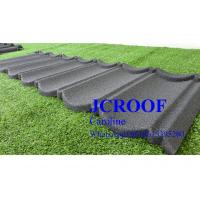 Economically Stone Coated Steel Roof  Tile 0.4mm thickness , Stone Coated Steel Shingles Manufactures