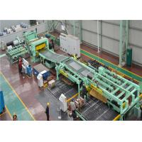 China 120 KW Steel Coil Cut To Length Line PLC Automatic Control Automatic Piling Up Bracket on sale