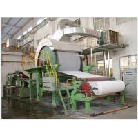 Width 1900mm Toilet Paper Making Machine , Speed Control Craft Paper Making Machine Manufactures