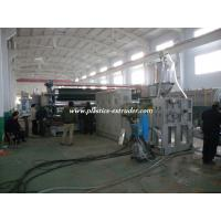 Plastic PVC Free Foam Sheet Machine For Advertisement , Plastic Sheet Extruder Machine Manufactures