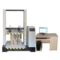 Stroke Protection Paper Testing Instruments , Corrugated Carton Resist Compression Tester 170*100*185cm Manufactures