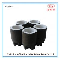 Round expendable carbon cup Manufactures