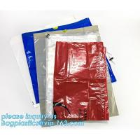 China Customized plastic biohazard medical waste drawstring bag, Drawstring Biohazard Bags,Durable Autoclave Medical Packaging on sale