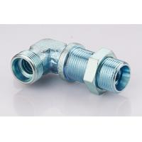 Bulkhead Elbow Male Din Hydraulic Fittings Din 2353 Passivation Surface Treatment Manufactures